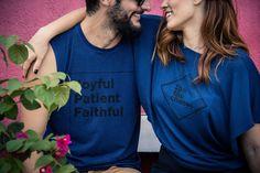 Regata Joyful - Masculina  Cropped Be The Change - Feminina  #donotconform #usedozedois