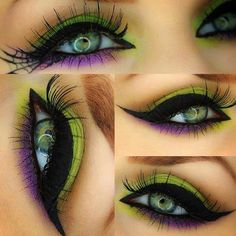 Idea makeup simple para hallowen