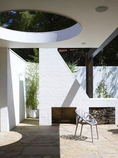 Laver House by Kennedy Nolan - love all the combination of geometry and shade in this design.