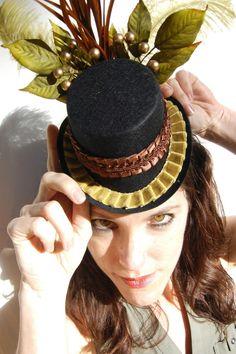 Cute steampunk mini hat!