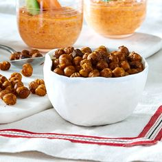 Chili, Cereal, Appetizers, Snacks, Breakfast, Food, Tapas, Stuffed Olives, Chickpeas