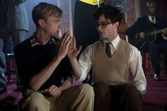 Left to right: Dane DeHaan as Lucien Carr and Daniel Radcliffe as Allen Ginsberg / Photo by Clay Enos, Courtesy of Sony Pictures Classics