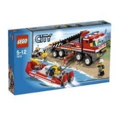 Buy Lego City: Off-Road Fire Truck & Fireboat #7213 Special offers - http://wholesaleoutlettoys.com/buy-lego-city-off-road-fire-truck-fireboat-7213-special-offers
