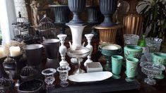 temos várias opções de peças para estudar a proporção dos tipos de arranjos e vasos para ser mais  assertivo na decoração.