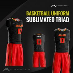 4edc4e1d0899 The moment your players step into the court with these sublimated basketball  uniforms is the moment everyone knows they are there to win.