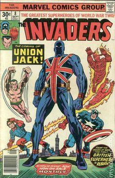 Invaders premier of union jack
