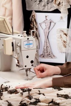 Atelier couture, sewing, Fashion atelier, Roberto Cavalli for Harrods
