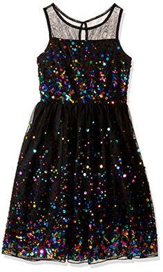 Speechless Girls' Big Girls' Illusion Neck Sequin Dress, ... https://www.amazon.com/dp/B01I0PVG4U/ref=cm_sw_r_pi_dp_x_HG9kyb451N468