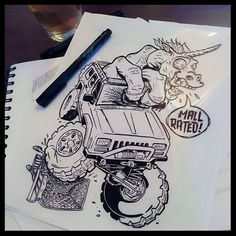 APOC Design killed it with this ink of the Handicorn Fink. What do you think? Mall Rated enough? - https://jcr.us/1Xn1wug