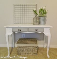 Fern Creek Cottage: Queen Anne Desk~Project Challenge: Furniture