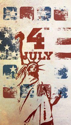 iPhone 5 Iphone Lockscreen Wallpaper, 4 Wallpaper, Cellphone Wallpaper, Wallpaper Backgrounds, Iphone Wallpapers, Patriotic Wallpaper, 4th Of July Wallpaper, Holiday Wallpaper, July Background