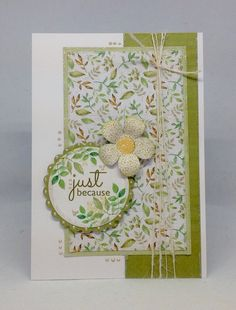 Created using Julie Loves Wildflowers kit and stamp set, made by Julie Hickey www.craftworkcards.com