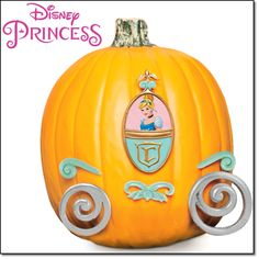"DISNEY PRINCESS CINDERELLA PUMPKIN PUSH-INS 6-piece set; plastic, parts vary: 3""–5""; imported, ages 6 and up.  Magalog: $12.99"