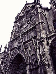 Transepto de la Catedral de Notre Dame (Paris - France)