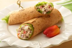 Bell Pepper Turkey Wrap | #picnic #bellpepper #turkey #wrap | http://www.jennieo.com/recipes/600-Bell-Pepper-Turkey-Wrap