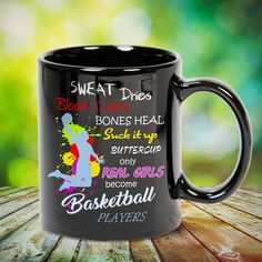 Only Real Girls Become Basketball Players Great basketball t shirt/mug/bag gift for family, friends, basketball players, basketball lovers or any women, men, girls, boys you know who loves basketball. Perfect basketball t shirt, funny basketball tshirts, Funny basketball Shirt for Men and Women, basketball shirt for women, basketball shirt for men, basketball gifts for teen girl boy. - get yours by clicking the link in my profile bio.