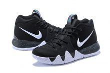 Nike Kyrie 4 Black White-Anthracite-Light Racer Blue New Fila Shoes 344b326a7
