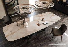 Her dekor için birbirinden şık ahşap, mermer, lake ve plastik masa modelleri (Kimden: Homify )