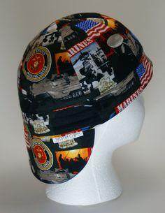 Custom Welding Cap, Marine Corp Welding Cap, Fitters Cap by JimmyCapsWeldingHats on Etsy