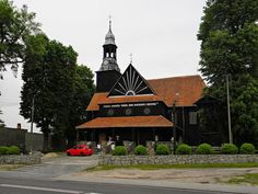Koło domu: Drewniany kościół w Bukowcu