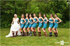 Cowboy boots!  Love it!