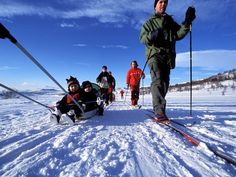 Cross-country skiing near Lillehammer, Norway. From National Geographic Traveler