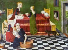 Birth of the Virgin | by anonymous artist of the Venetian School