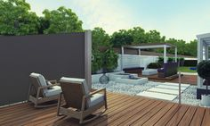 Paravents de terrasse sur pinterest cloisons de for Proteger sa terrasse des regards