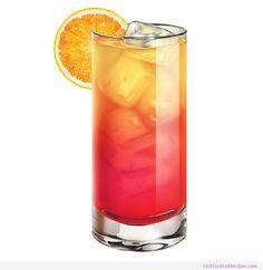 Tequila Sunrise #Cocktail #Recipe