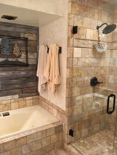 Shower Remodeling Rock ideas and Corner Shower Remodeling White Subway Tiles ideas.