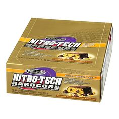 MuscleTech® Nitro-Tech® Bar - Peanut Butter Chocolate Chip: I could eat these every single day of the year. That's saying a lot for a protein bar.