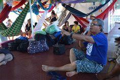 | Rede de Notícias da Amazónia | No final de Agosto de 2016, o fundador desta rádio, o padre Edilberto Sena, e a produtora executiva Joelma Viana, ajudaram a organizar uma caravana ambiental e social que viajou de Santarém para Itaituba, no estado do Pará, no coração da Amazónia. Em Itaituba, reuniram-se cerca de mil ativistas e cidadãos preocupados para uma cúpula para desenvolver estratégias económicas sustentáveis para a região de Tapajós.