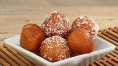 طريقة عمل لقيمات هشه - Delicious oriental sweet recipe