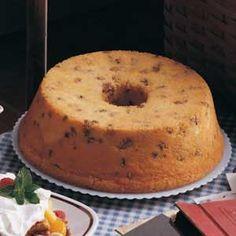 Black Walnut Pound Cake.