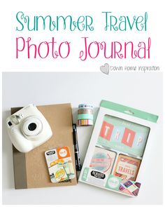 The Most Fun Summer Travel Photo Journal - Down Home Inspiration