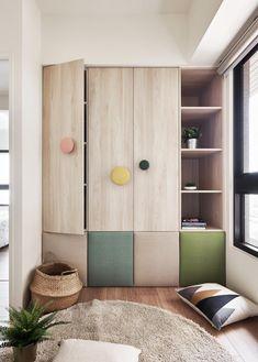 收納也能美美的,用屋主喜好展現極簡原木活力家-設計文章 - 100室內設計
