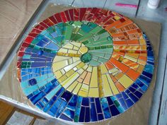 Spiral mosaics - linked to nothing