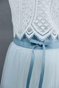 0fcc868e7af955 noni | Tüllrock, Brautkleid Blau, wadenlang Tüllrock Blau, Blau Grau,  Outfit Hochzeit