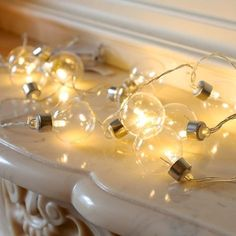 Clear Festival String Lights