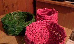 Korb aus Zeitungspapier Cake, Desserts, Paper, Basket, Repurpose, Tailgate Desserts, Deserts, Kuchen, Postres