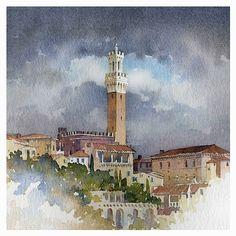 Siena | Thomas Schaller-watercolor