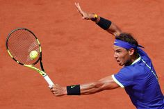 Nadal became the first player to win 10 Grand Slam singles titles at the same tournament in the Open era.