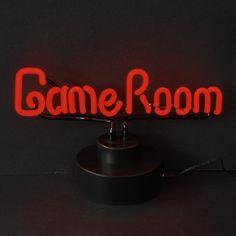 Game Room Neon Sculpture