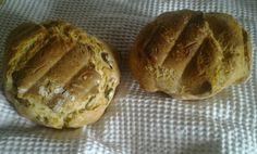 Panetti alle olive  con Pasta Madre