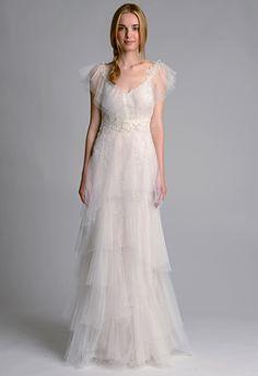 Marchesa Fall 2014 Wedding Dreses