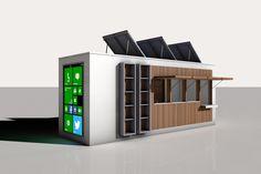 natural idées, design d'architecture connectée et autonome en énergie'