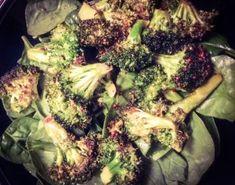 Roasted Broccoli Recipe #paleo #glutenfree #cleaneating