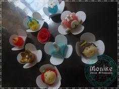 Doces modelados, Shaped candy, Sweet, Leite em pó, Leite Ninho. Pagina: Monike Doces Artesanais Tema: Princesas