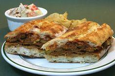 BBQ Seitan Panini Sandwich