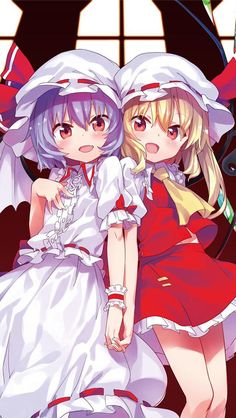 Remilia and Flandre Scarlet~Touhou